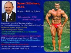 Catégorie Men's Physique, les consignes de Mr Pawel Filleborn aux Juges.
