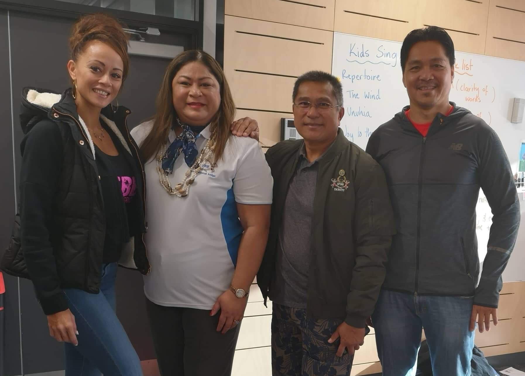 IFBB Tahiti & IFBB NZ