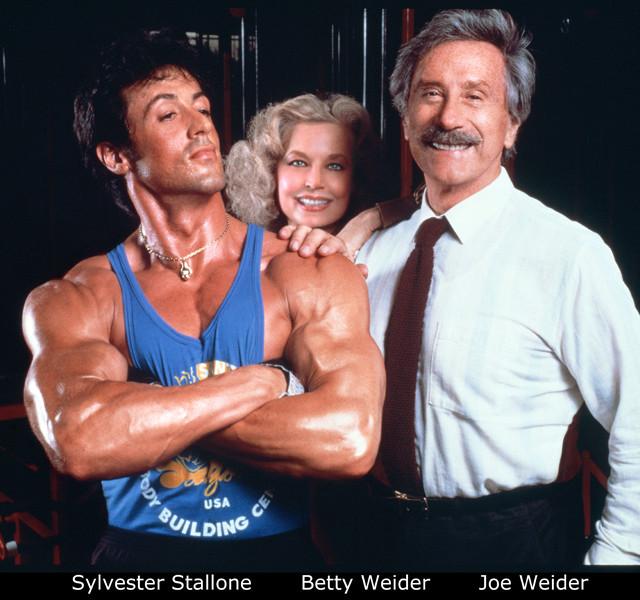Joe Weider & Stallone