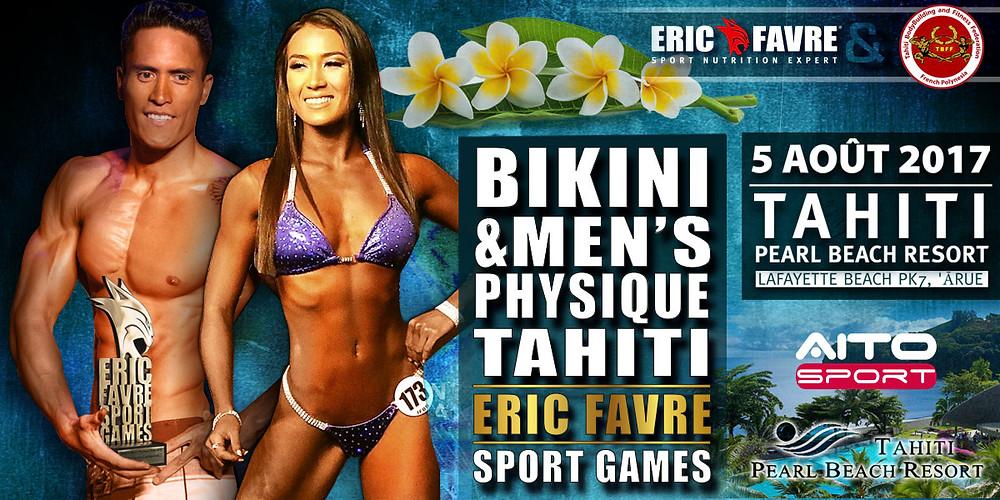 Eric Favre Sport Games Tahiti 2017