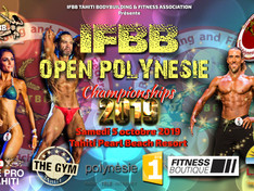 IFBB Open Polynésie Championships 2019