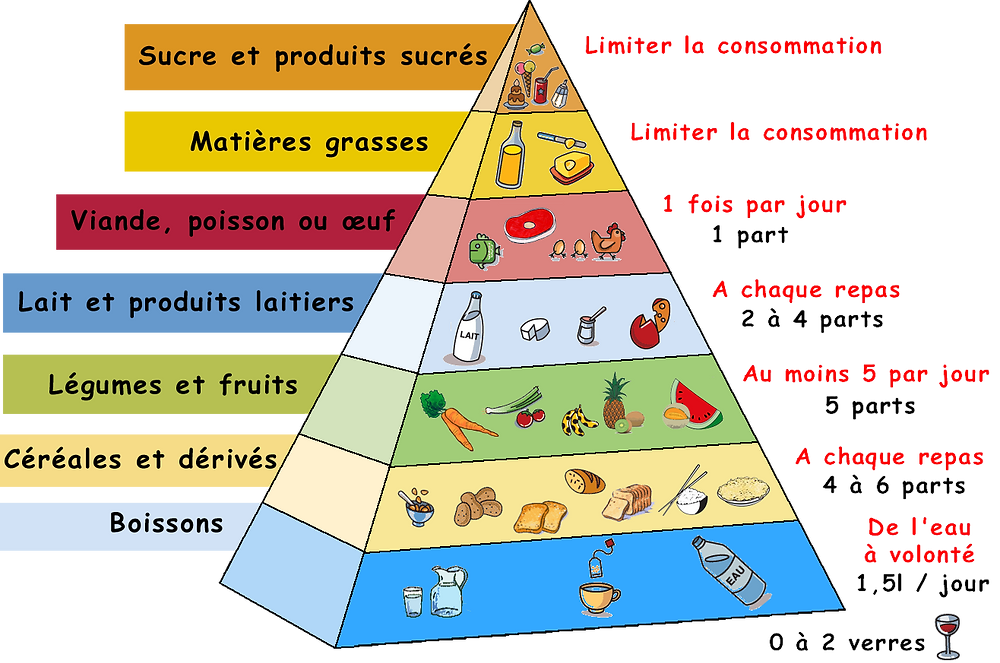 Pyramide alimentaire (IFBB Tahiti Magazine)