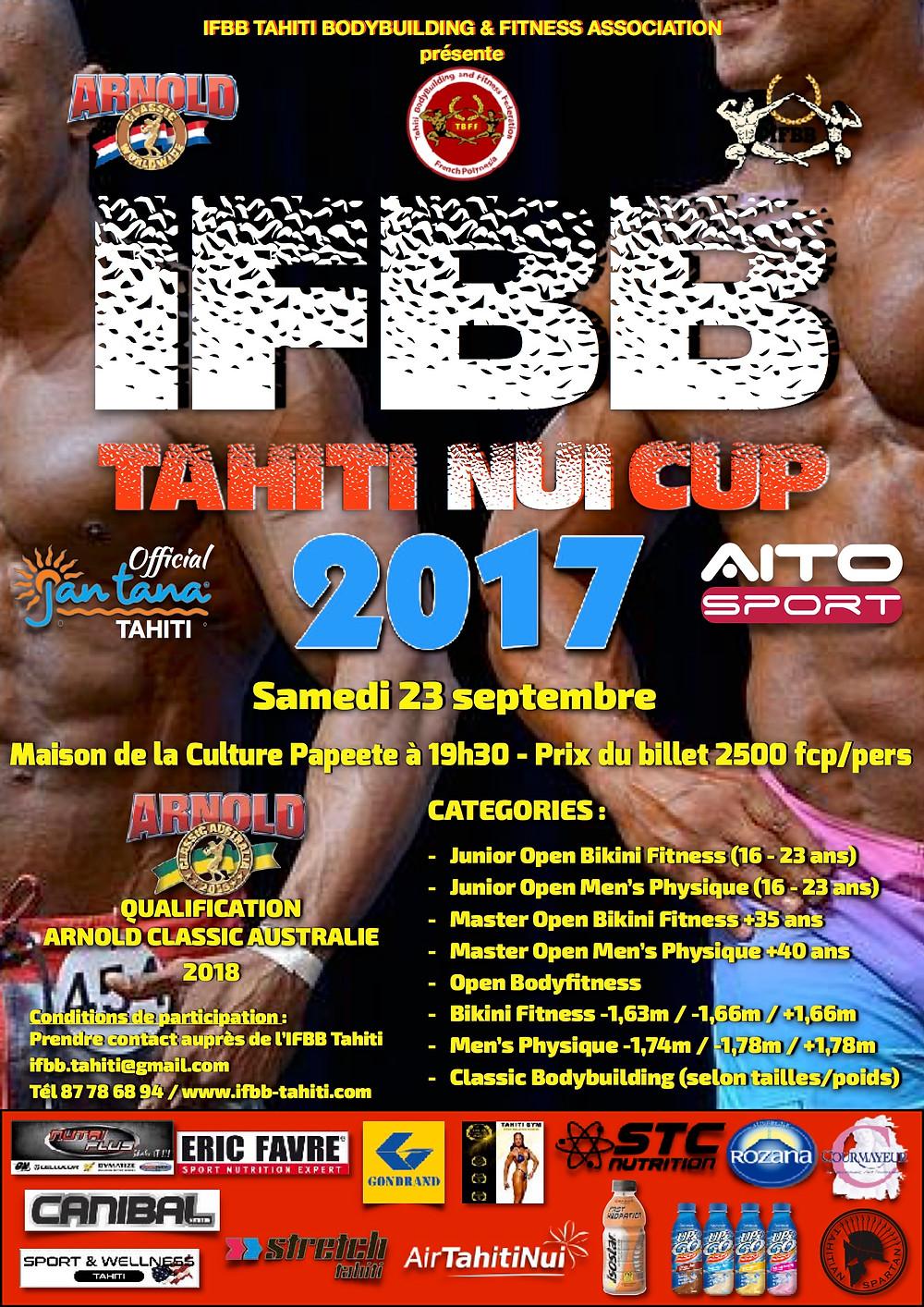 IFBB Tahiti Nui Cup Invitational 2017