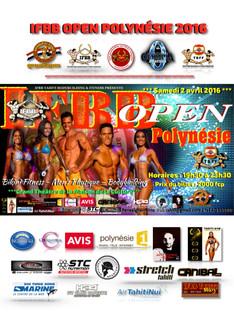 Conditions de participation - IFBB Open Polynésie Championship 2016