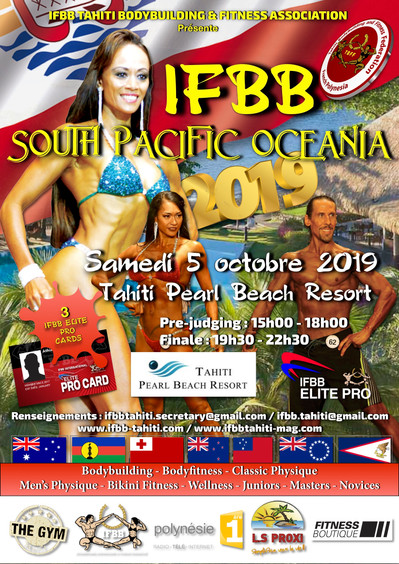 IFBB South Pacific Oceania Championships 2019