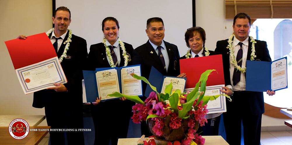 IFBB Tahiti officials nominated