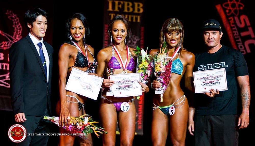IFBB Open Polynésie 2016 - Bikini Fitness +1,69m