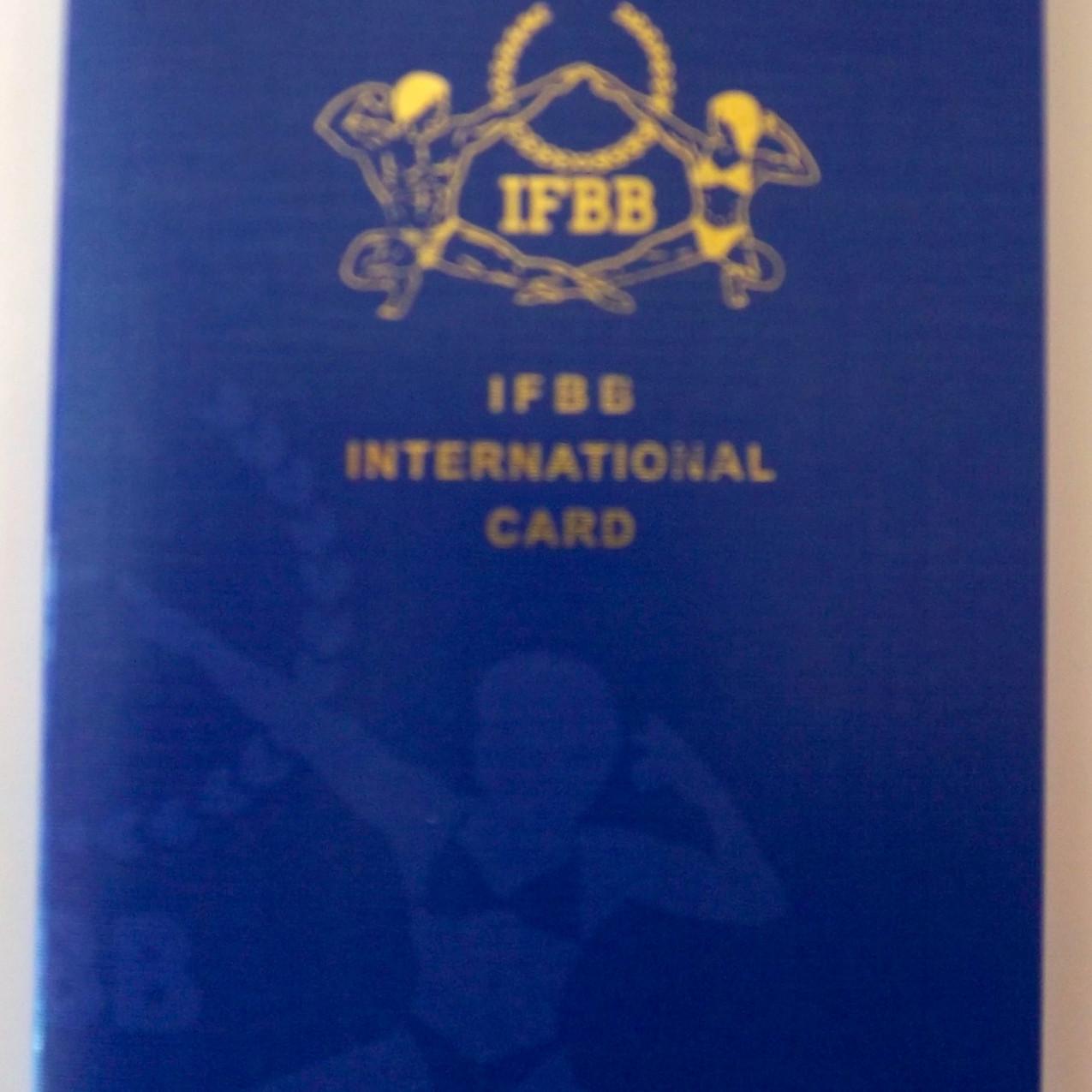 IFBB Passport