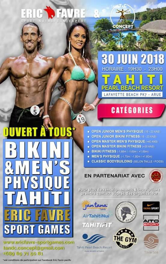 Eric Favre Sport Games Tahiti 2018