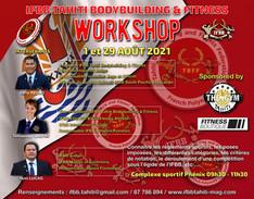 """Workshop """"IFBB Open Polynésie 2021"""""""