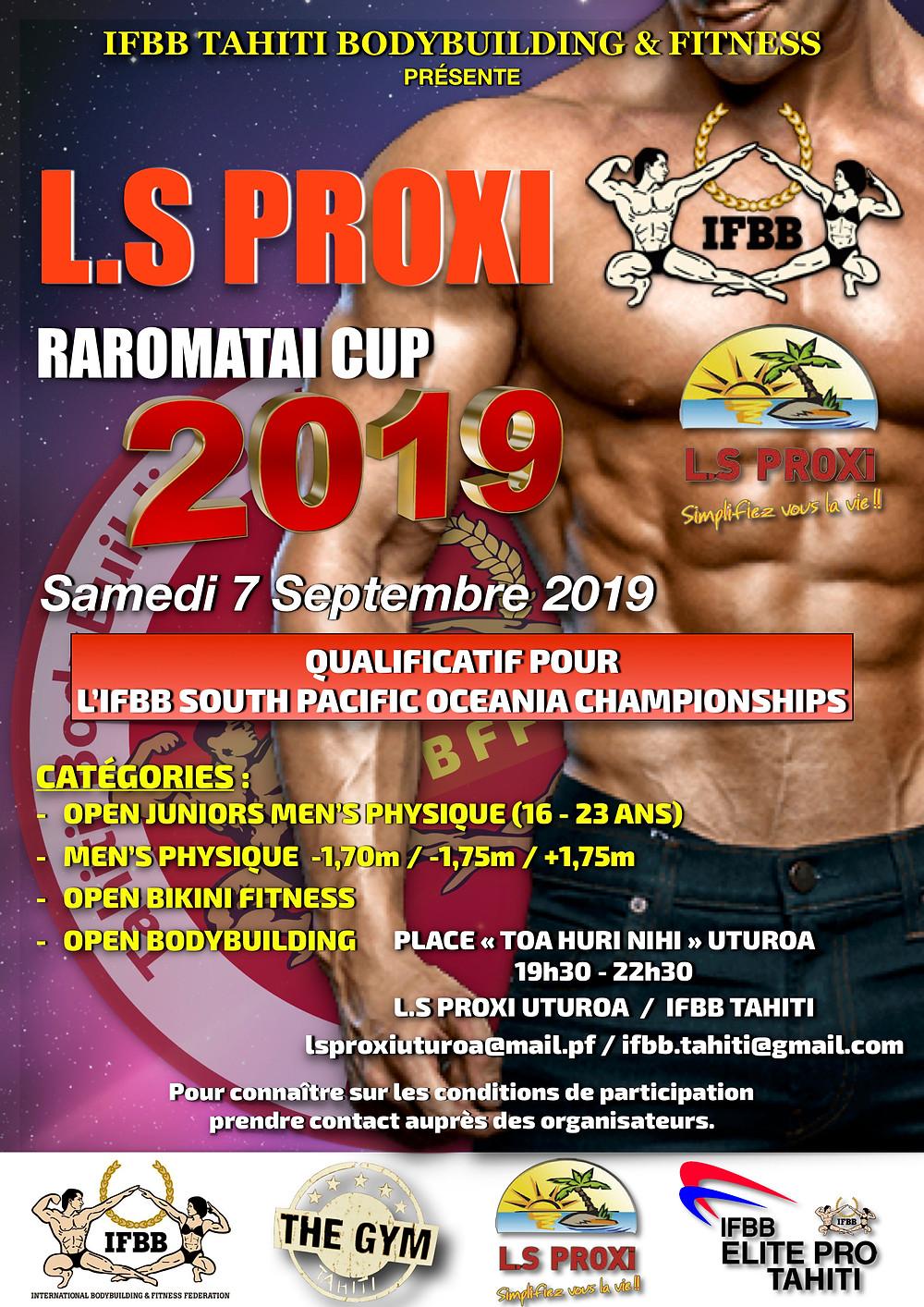 IFBB - L.S Proxi Raromatai Cup 2019