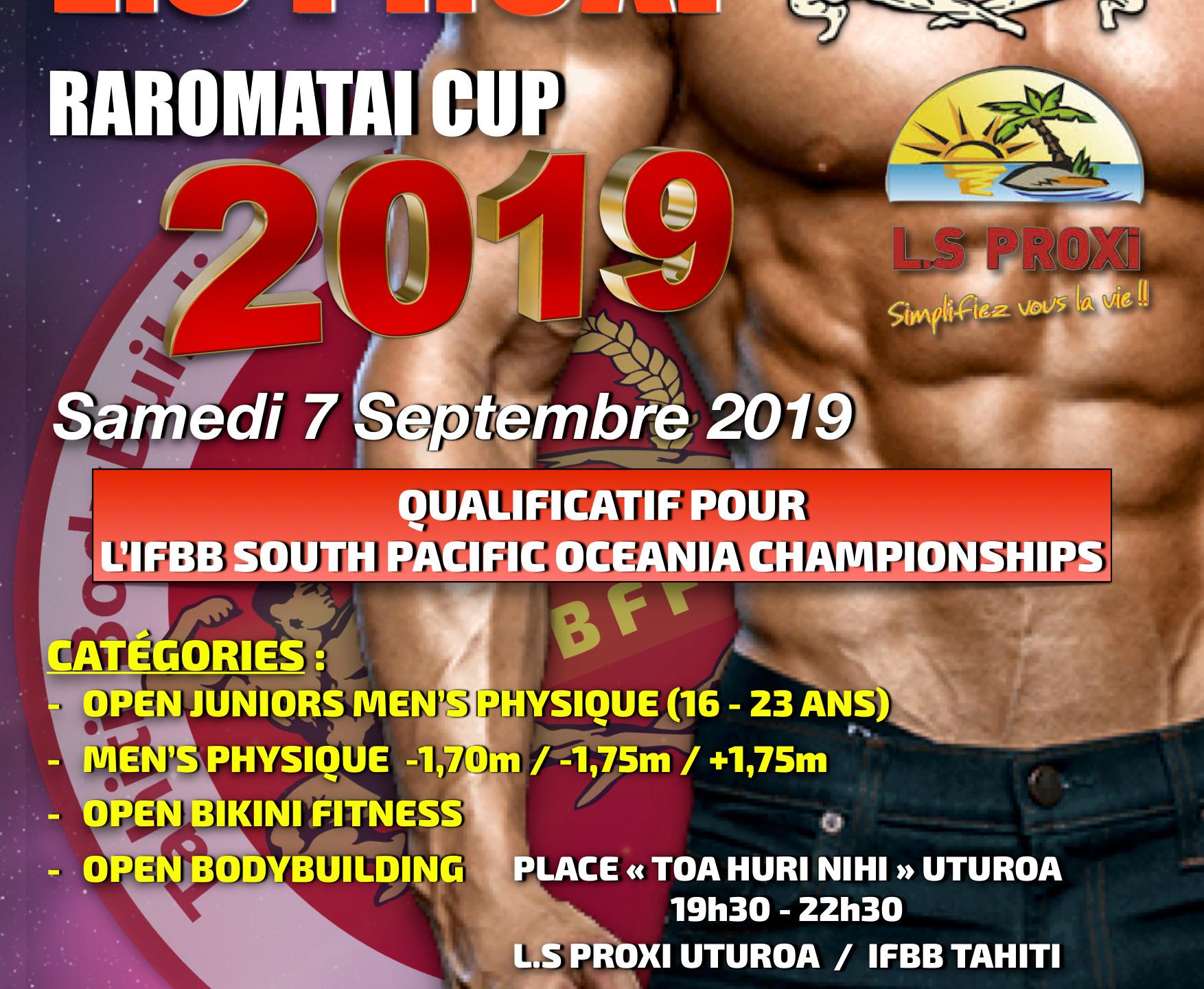 IFBB-L.S PROXI RAROMATAI CUP 2019
