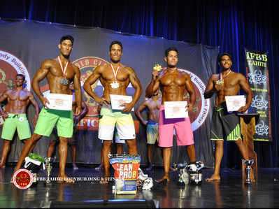 Men's Physique +1,80m IFBB Tahiti Nui  Cup 2015
