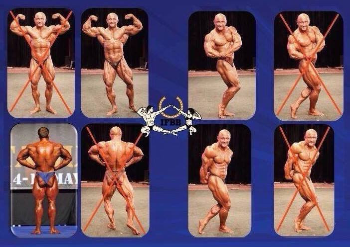 IFBB Officials poses