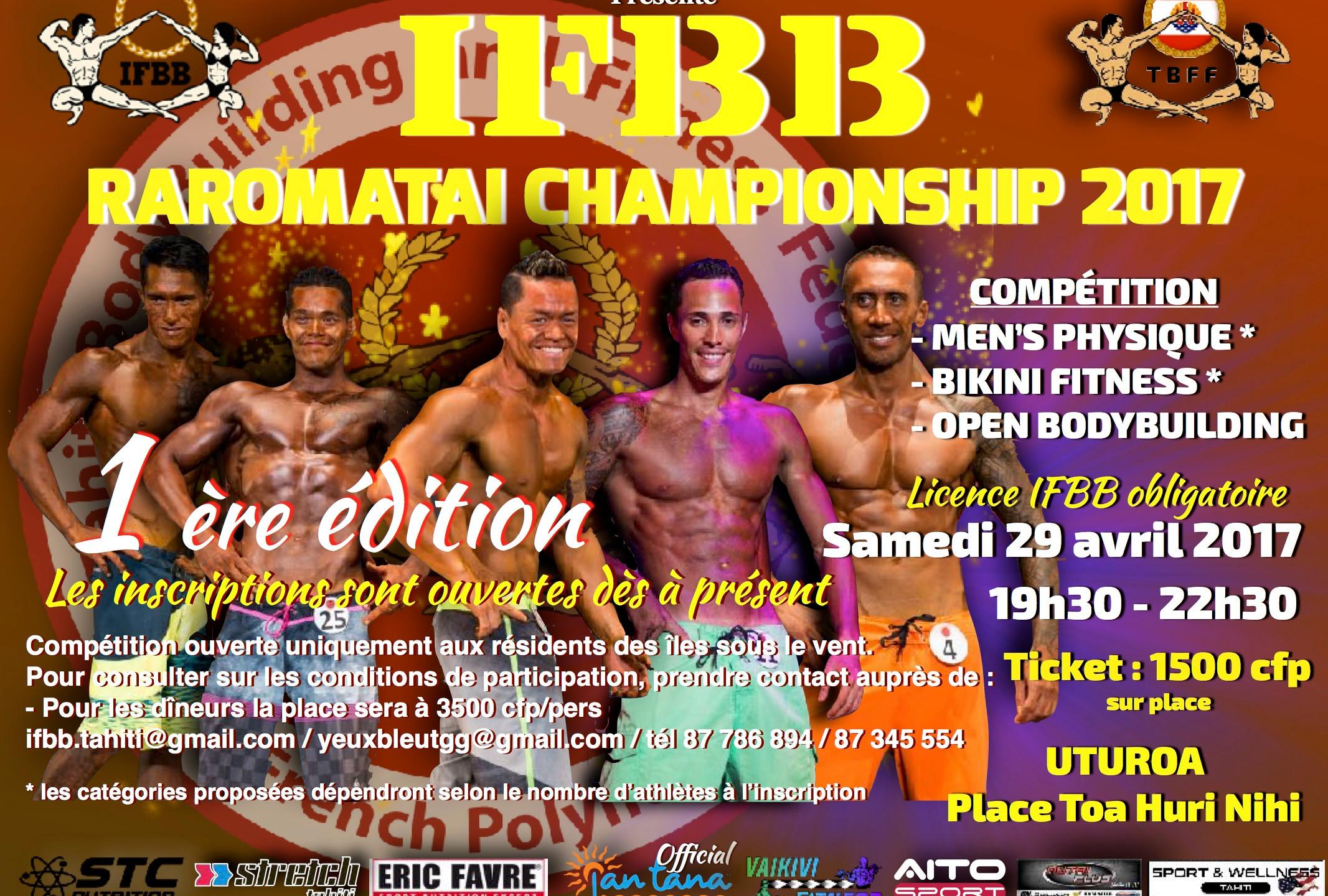 IFBB Raromatai Championship 2017