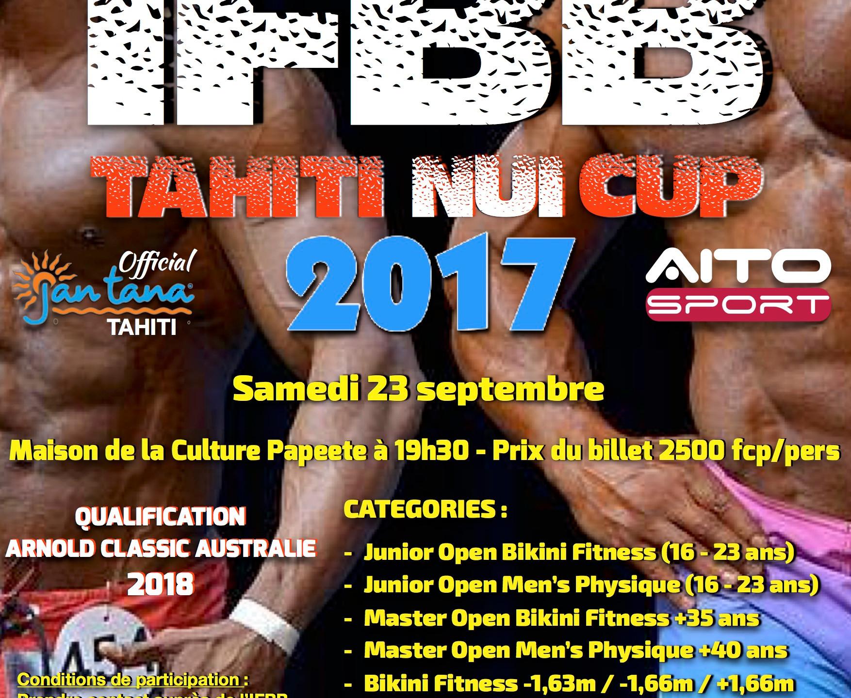 IFBB Tahiti Nui Cup 2017