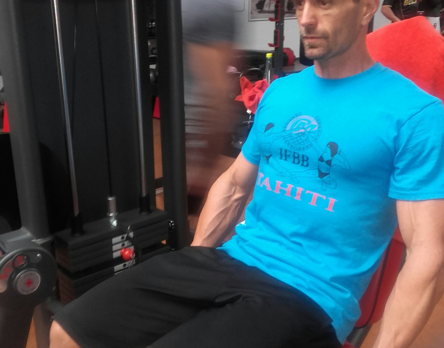 Vincent Carreau iIFBB Tahiti Athlète Classic Bodybuilding