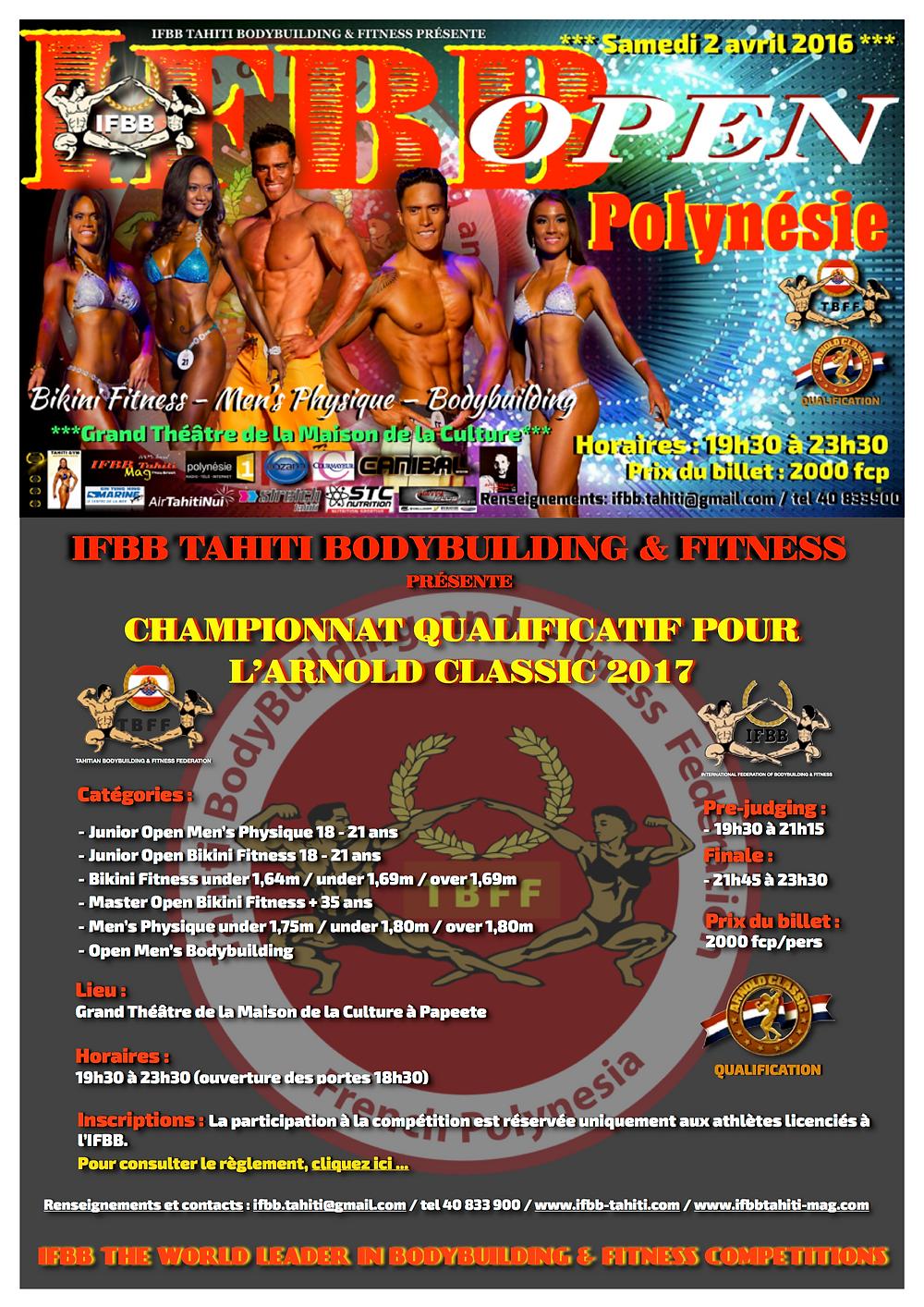 IFBB Open Polynésie 2016