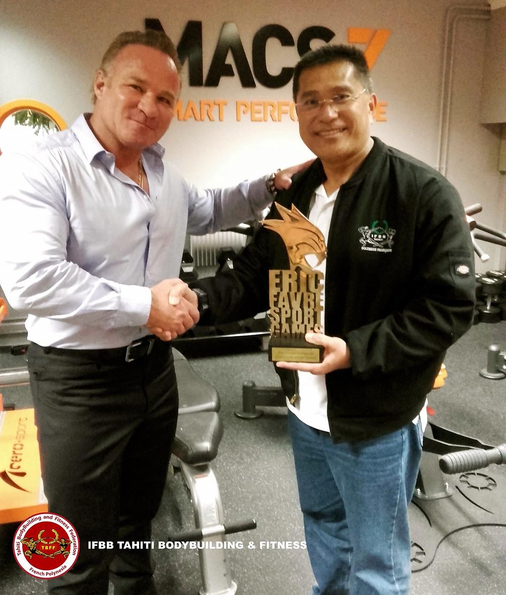Eric Favre et Jerry Yeung