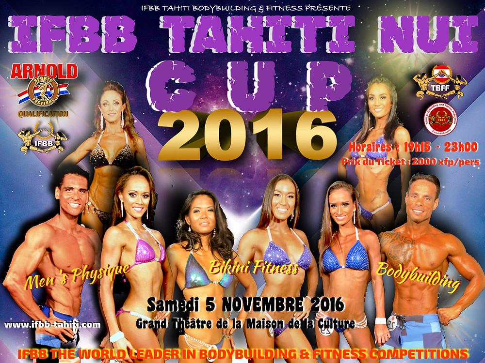 IFBB TAHITI NUI CUP 2016