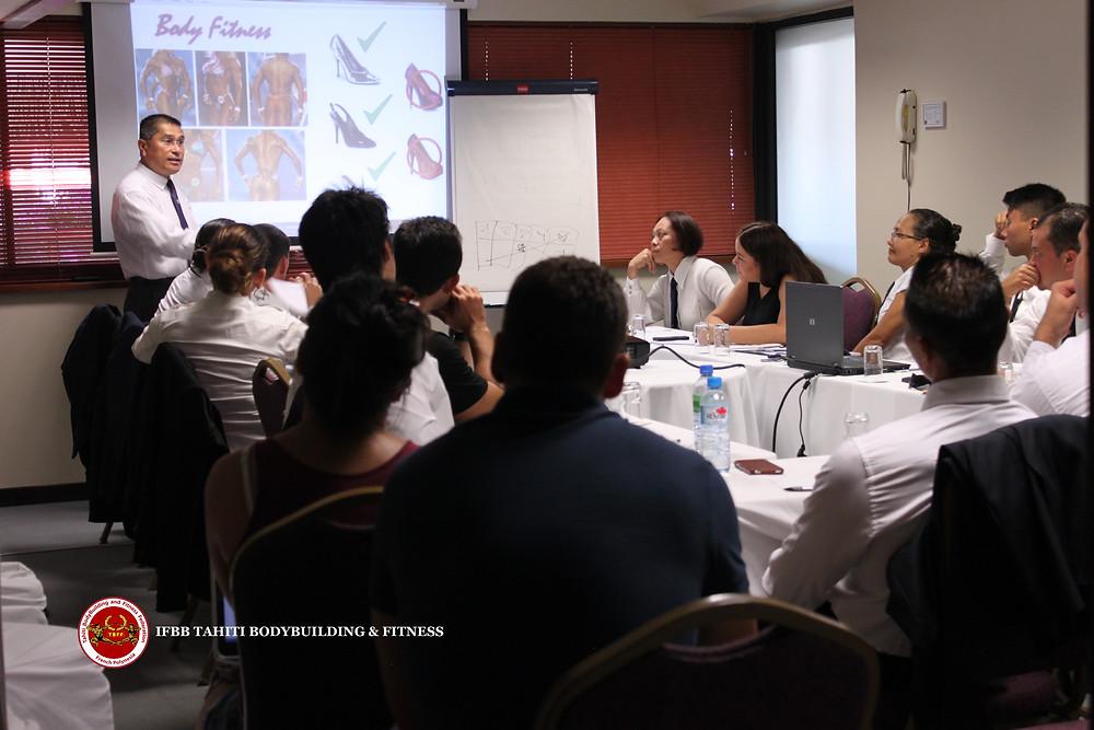 FORMATION JUGES/OFFICIELS IFBB TAHITI