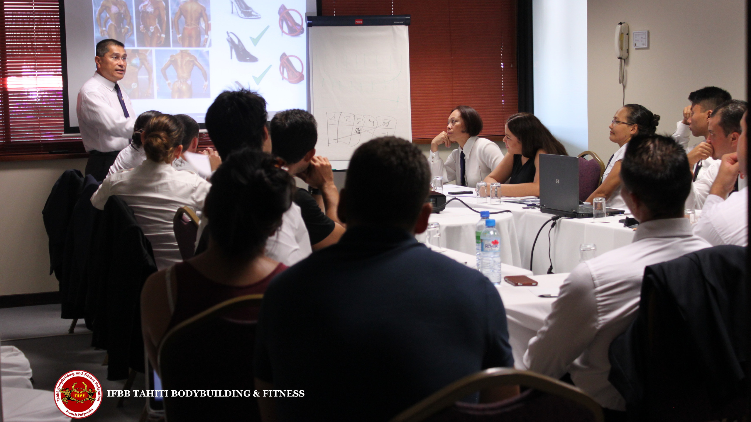 FORMATION JUGES & OFFICIELS IFBB TAHITI 2014