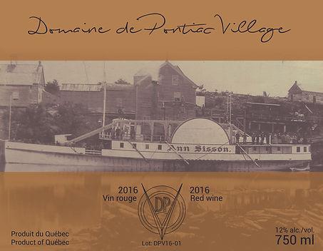 Domaine de Pontiac Village_Rouge_2016.jp