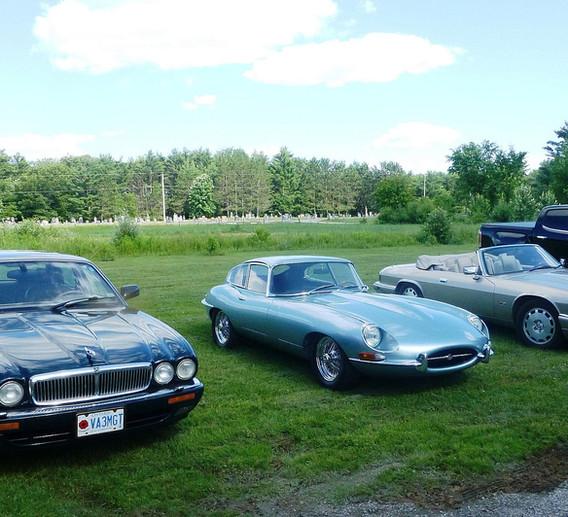 Visite du Club Jaguar d'Ottawa