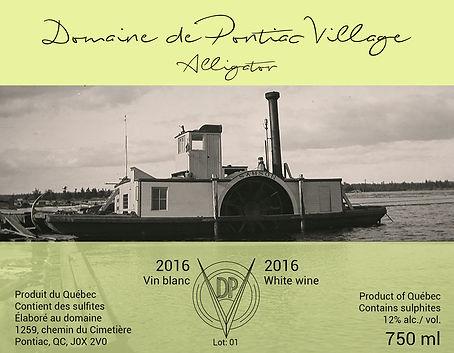 Alligator - vin blanc - 2016