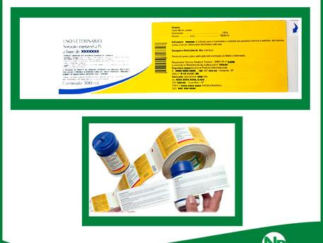 Booklet a etiqueta da Novelprint multi-páginas no formato de um livreto!