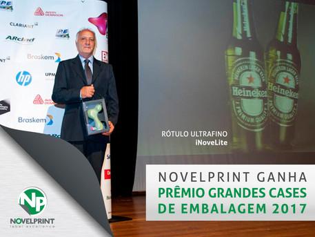 Premiação Grandes Cases da Embalagem - NovelPrint Sist. de Etiquetagem LTDA