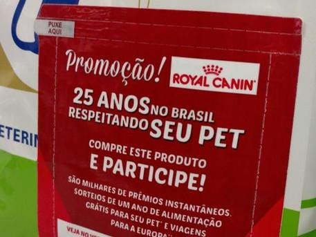 Novelprint cria adesivo especial para a celebração dos 25 anos da Royal Canin no Brasil