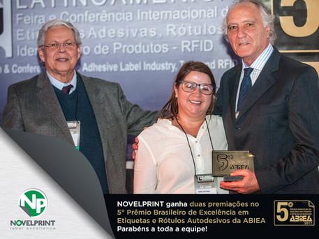 5° Prêmio Brasileiro de Excelência em Etiquetas e Rótulos Autoadesivos da ABIEA