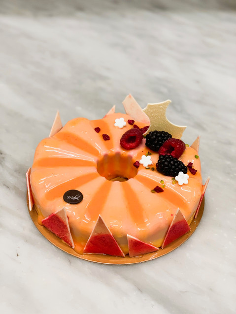 Mousse al mandarino