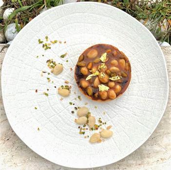 Crostatina Caramenllo e Frutta secca