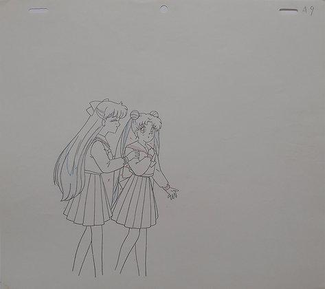 Bishōjo Senshi Sailor Moon/Sailor Moon, Sailor Moon and Sailor Venus (1992-1997)