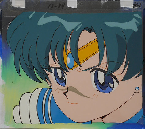 Sailor Moon, Sailor Mercury (close-up) (1992-1997)