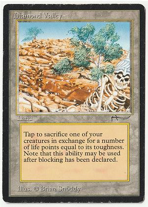 Magic: The Gathering, Diamond Valley, Arabian Nights, Light Played (1993)