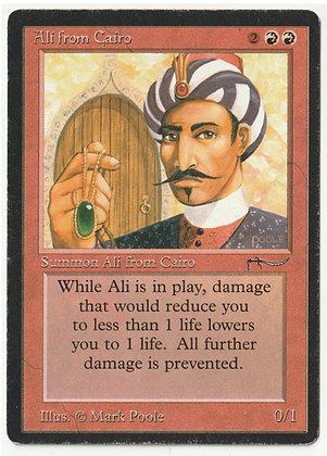 Magic: The Gathering, Ali from Cairo, Arabian Nights, Light Played (1993)