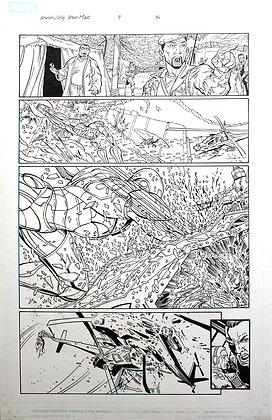 Iron Man | Original comics page 4-9-16 (2006)