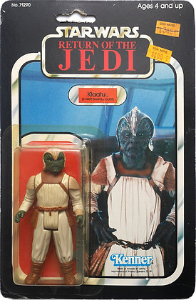 Star Wars Vintage, Klaatu (In Skiff Guard Outfit) (1983)