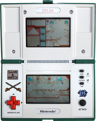 Nintendo Game & Watch Multi Screen Zelda (ZL-65) (1989)
