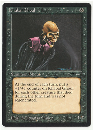 Magic: The Gathering, Khabal Ghoul, Arabian Nights, Near Mint (1993)