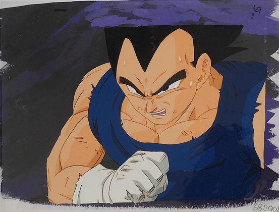 Dragon Ball Z, Vegeta clenching his right fist (1989-1996)