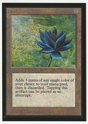 Magic: The Gathering, Black Lotus, International Edition, Near Mint (1993)