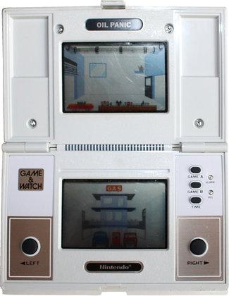 Nintendo Game & Watch Multi Screen Oil Panic (OP-51) (1982)