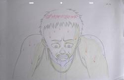 Akira's Tetsuo anime sketch
