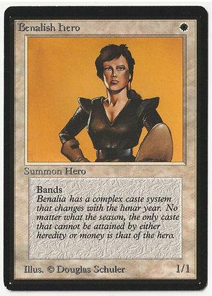 Magic: The Gathering, Benalish Hero, Beta, Near Mint (1993)