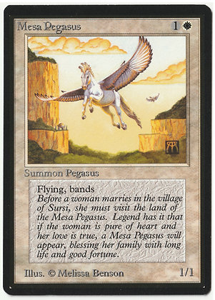 Magic: The Gathering, Mesa Pegasus, Beta, Near Mint (1993)