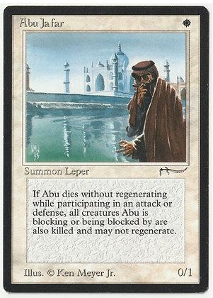 Magic: The Gathering, Abu Ja'far, Arabian Nights, Near Mint (1993)